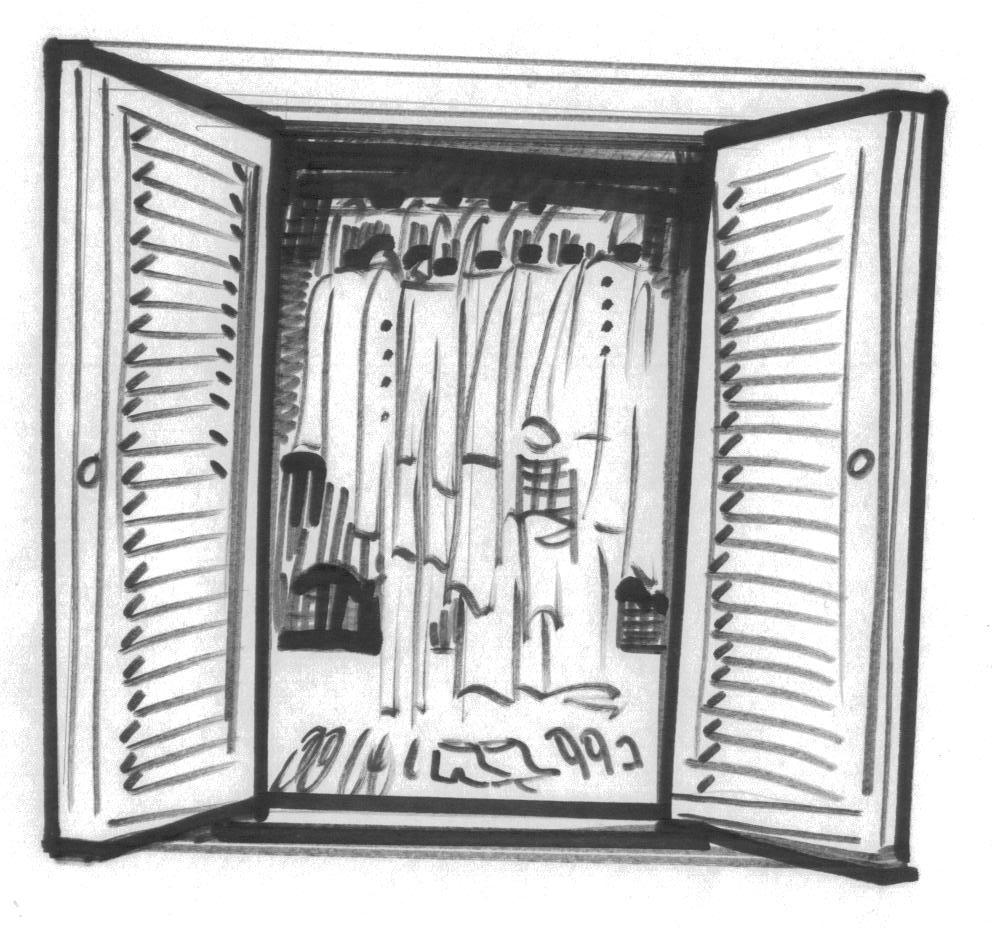 Elegant Bed 1 · Bed 2 · Closet · Clothes
